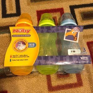 Nuby Bottle Set 0+ Months